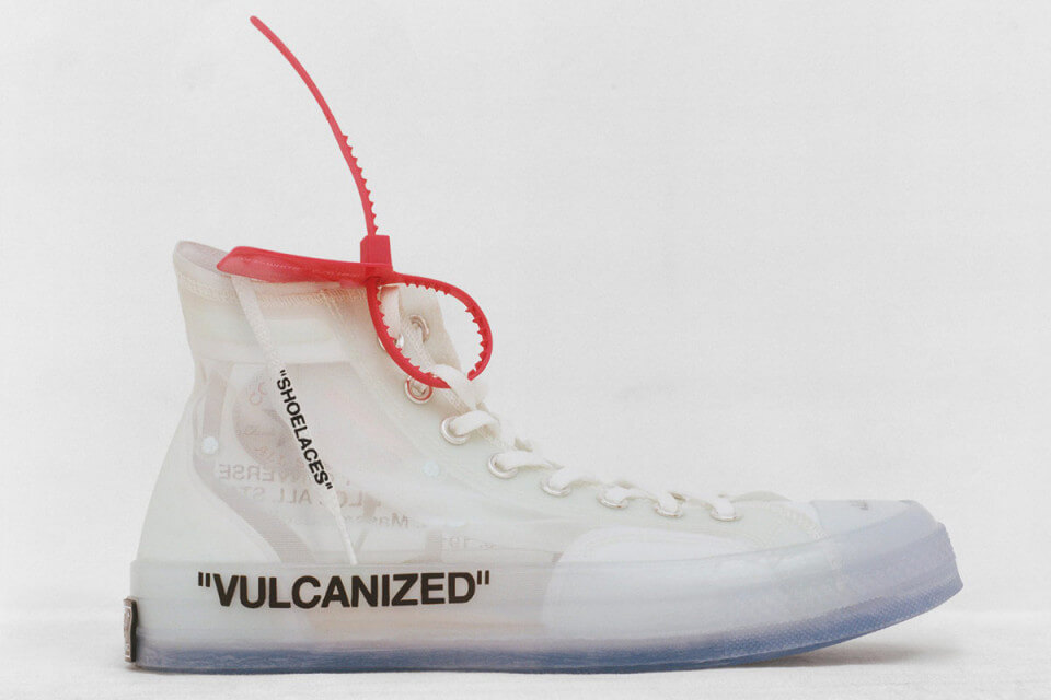 Off White Converse Chuck Taylor All-Star