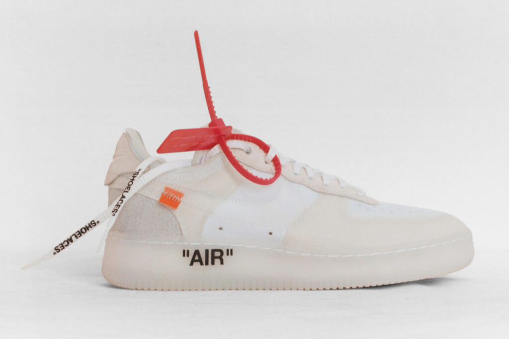 Off White Nike Air Force 1 Low